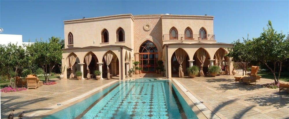 בית פרטי בקיסריה בסגנון מרוקאי